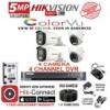 HIKVISION COLOR VU 5 MP CCTV CAMERA  PACKAGES
